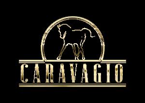 Caravagio golden logo